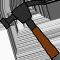 *Hammer*