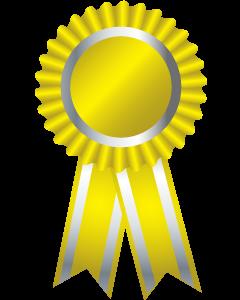 Yellow Award Ribbon | www.pixshark.com - Images Galleries ...